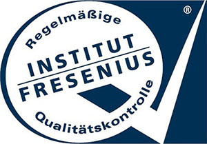 [Translate to chinese traditionally:] Logo of the independent German Fresenius Institute