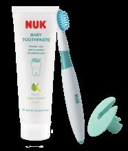 兒童牙膏及乳齒牙刷套裝