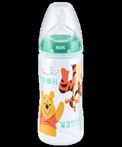 迪士尼小熊維尼300ML寬口PP奶瓶連矽膠奶咀