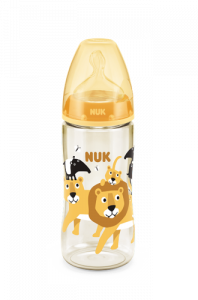 Premium Choice 300mL 寬口PPSU奶瓶/矽膠奶嘴 - 獅子/海獅