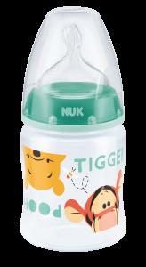 迪士尼小熊維尼150ML寬口PP奶瓶連矽膠奶咀